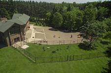 Dog Training Camp Fenced and Gated Areas